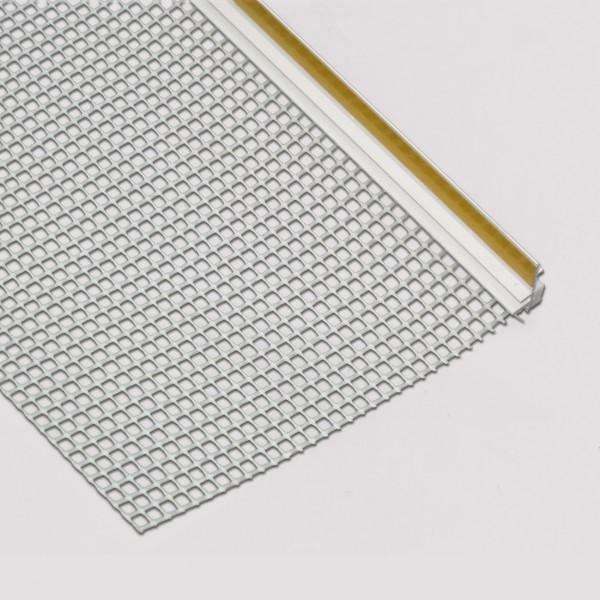 Anputzleiste mit Gewebe WDVS / Window sealing stop bead with lipps EFIS