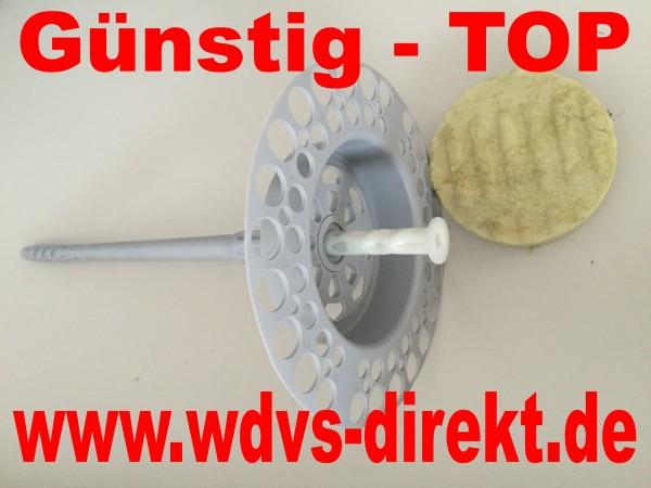 Dübel mZ Schraub Termoz CS8 DT 110mm Miwo versenkbar 50St/Kart.
