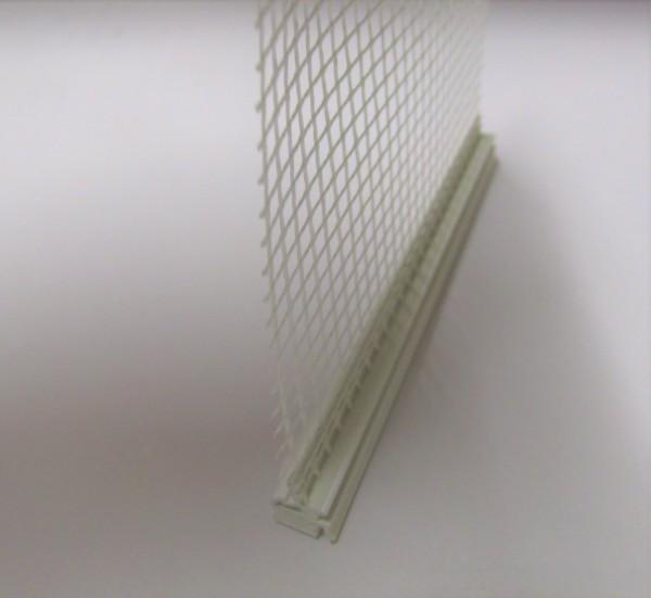 Anputzleiste WDVS 3D flex, weiß á 78m 260cm, mehrteilig