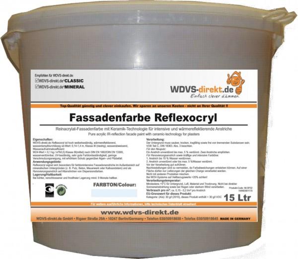 Fassadenfarbe Reflexocryl á 15 ltr.